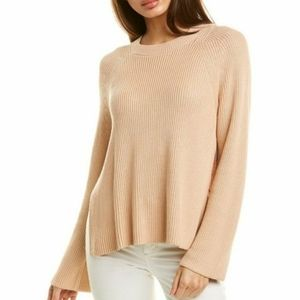 Lafayette 148 NWT open side vent ribbed sweater